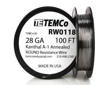 24 gauge kanthal wire build TEMCo Kanthal Wire 28 Gauge -, FT 0.61 oz Series, Resistance AWG: Electrical Wires: Amazon.com: Industrial & Scientific 24 Gauge Kanthal Wire Build Creative TEMCo Kanthal Wire 28 Gauge -, FT 0.61 Oz Series, Resistance AWG: Electrical Wires: Amazon.Com: Industrial & Scientific Solutions