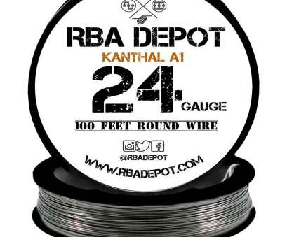 24 gauge kanthal wire for sale ... 24 Gauge, Premium Kanthal Wire Alloy A1 Resistance Wire 0.51mm Roll -, Depot 17 Simple 24 Gauge Kanthal Wire, Sale Ideas