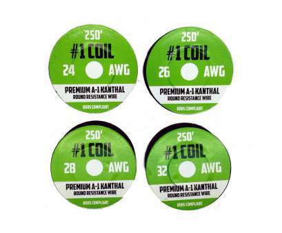 24 gauge kanthal wire for sale Get Quotations · Kanthal, Wire 1000 ft 4 Pack, 24 26 28 32, Gauge 24 Gauge Kanthal Wire, Sale Cleaver Get Quotations · Kanthal, Wire 1000 Ft 4 Pack, 24 26 28 32, Gauge Collections