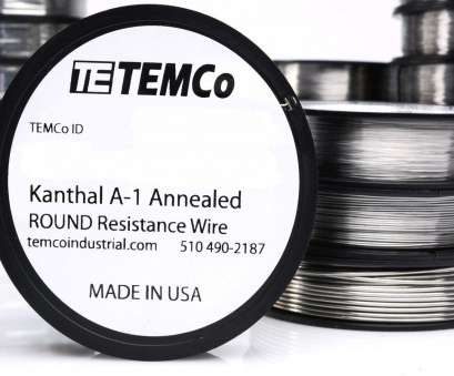 24 gauge kanthal wire for sale Temco Kanthal A1 Wire 23 Gauge 25 FT Resistance, A-1 GA 24 Gauge Kanthal Wire, Sale Cleaver Temco Kanthal A1 Wire 23 Gauge 25 FT Resistance, A-1 GA Galleries