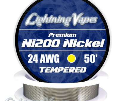 24 gauge nickel wire build Tempered Ni200 Pure Nickel Wire, Lightning Vapes 24 Gauge Nickel Wire Build Top Tempered Ni200 Pure Nickel Wire, Lightning Vapes Photos