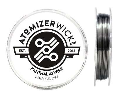 24 gauge nickel wire Genuine AtomizerWick Brand 24 Gauge Kanthal A1 Wire, 100ft, 50ft & 25ft Available!, Amazon.com 24 Gauge Nickel Wire Creative Genuine AtomizerWick Brand 24 Gauge Kanthal A1 Wire, 100Ft, 50Ft & 25Ft Available!, Amazon.Com Galleries