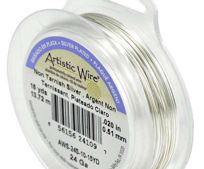 24 gauge silver plated wire Amazon.com: Artistic Wire 24-Gauge Tarnish Resistant Silver Wire, 15-Yard 24 Gauge Silver Plated Wire Brilliant Amazon.Com: Artistic Wire 24-Gauge Tarnish Resistant Silver Wire, 15-Yard Galleries