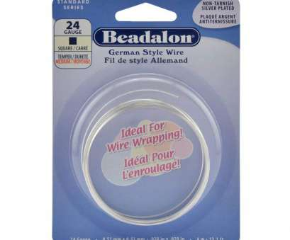 24 gauge silver plated wire Beadalon Square Silver Plated 24-Gauge Wire, 4-Meters 24 Gauge Silver Plated Wire Professional Beadalon Square Silver Plated 24-Gauge Wire, 4-Meters Photos