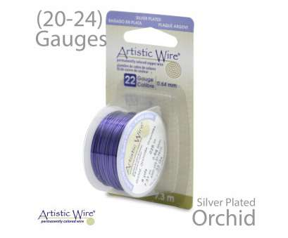 24 gauge silver plated wire Orchid Artistic Wire Tarnish Resistant Silver Plate Purple Wire Craft Wire 24 Gauge Silver Plated Wire New Orchid Artistic Wire Tarnish Resistant Silver Plate Purple Wire Craft Wire Galleries