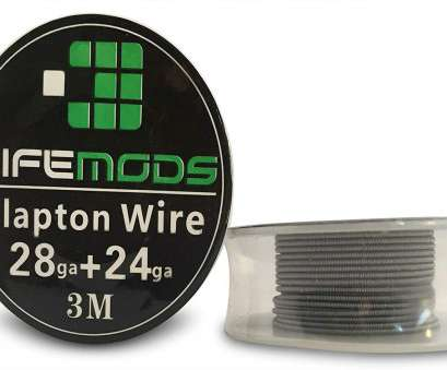 24 gauge ss wire LifeMods Clapton Stainless Steel Wire AISI 316L spool, 28/24 gauge, feet/roll, Amazon.com 24 Gauge Ss Wire Creative LifeMods Clapton Stainless Steel Wire AISI 316L Spool, 28/24 Gauge, Feet/Roll, Amazon.Com Solutions