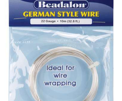 24 gauge wire diameter in mm Beadalon German Style Round Wire 22 Gauge 32.8 Feet/Pkg-Silver 24 Gauge Wire Diameter In Mm Simple Beadalon German Style Round Wire 22 Gauge 32.8 Feet/Pkg-Silver Solutions