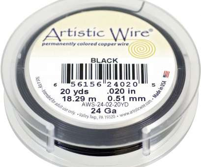 24 gauge wire for jewelry Artistic Wire Copper Jewelry Wire, 24ga, 60ft, Black 24 Gauge Wire, Jewelry Most Artistic Wire Copper Jewelry Wire, 24Ga, 60Ft, Black Collections