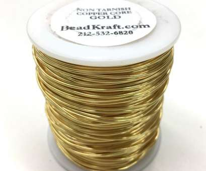 24 gauge wire for jewelry BULK, 24 Gauge,, Tarnish Gold, Colored Copper Craft Wire, 1 LB (800 Feet) 24 Gauge Wire, Jewelry Nice BULK, 24 Gauge,, Tarnish Gold, Colored Copper Craft Wire, 1 LB (800 Feet) Photos