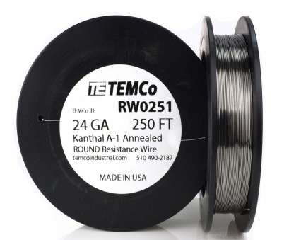 24 gauge wire resistance Temco Kanthal A1 Wire 24 Gauge, FT Resistance, A-1 GA 24 Gauge Wire Resistance Nice Temco Kanthal A1 Wire 24 Gauge, FT Resistance, A-1 GA Ideas