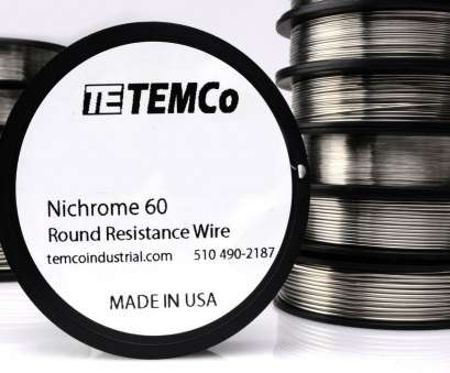 24 gauge wire resistance Temco Nichrome 60 Series Wire 24 Gauge 50 FT Resistance, GA 24 Gauge Wire Resistance Popular Temco Nichrome 60 Series Wire 24 Gauge 50 FT Resistance, GA Photos