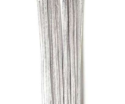 24 gauge wire Silver 24 Gauge Wire, Sugar Flowers 50 pack 24 Gauge Wire Simple Silver 24 Gauge Wire, Sugar Flowers 50 Pack Pictures