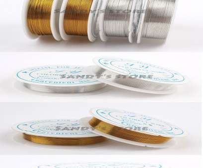24 gauge wire thickness in mm 2pcs Thickness 0.5mm 24 gauge Silver Gold Colored Rustless Iron Wire, Jewelry Crafts Soft 24 Gauge Wire Thickness In Mm Simple 2Pcs Thickness 0.5Mm 24 Gauge Silver Gold Colored Rustless Iron Wire, Jewelry Crafts Soft Solutions