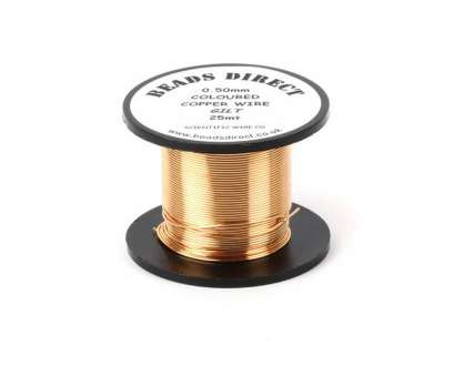 24 gauge wire to mm Gilt (Gold Colour) Copper Wire 0.5mm, gauge), reel 24 Gauge Wire To Mm Top Gilt (Gold Colour) Copper Wire 0.5Mm, Gauge), Reel Ideas