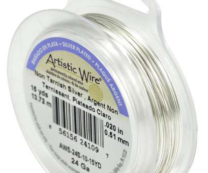24 gauge wire uses Artistic Wire 24-Gauge Tarnish Resistant Silver Wire, 15-Yard product image 24 Gauge Wire Uses Professional Artistic Wire 24-Gauge Tarnish Resistant Silver Wire, 15-Yard Product Image Pictures