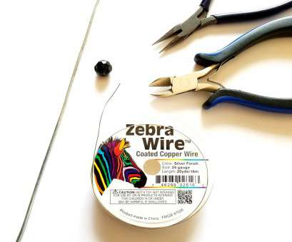 24 gauge wire uses You also need a straight piece of wire about, long, as an additional tool,, gauge, hard), let's call it