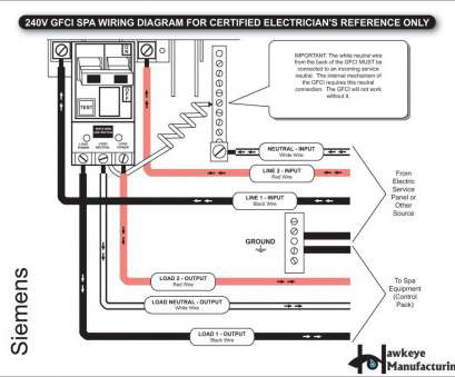 240 volt gfci wiring diagram Wiring Diagram, 240 Volt Gfci Breaker, Gfci Wiring Diagram Best Gfci Outlet Diagram, Wiring Diagram Collection, Yourproducthere.co, Wiring 14 New 240 Volt Gfci Wiring Diagram Images