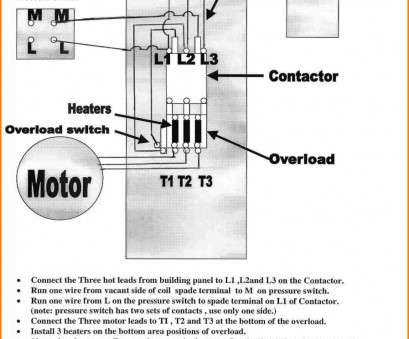Magnetic Starter Wiring Diagram For 220 - Technical Diagrams on
