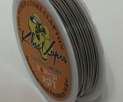 26 gauge 316l stainless steel wire 1 of 4FREE Shipping SS316L- Fused Clapton, 25ft Made with Stainless Steel Wire 2*26/32 26 Gauge 316L Stainless Steel Wire Fantastic 1 Of 4FREE Shipping SS316L- Fused Clapton, 25Ft Made With Stainless Steel Wire 2*26/32 Collections