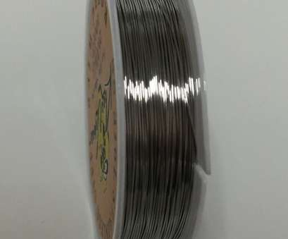 26 gauge 316l stainless steel wire SS 316l, 100ft Roll of Stainless Steel Wire 26 Gauge AWG 26 Gauge 316L Stainless Steel Wire Simple SS 316L, 100Ft Roll Of Stainless Steel Wire 26 Gauge AWG Pictures