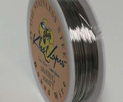 26 gauge 316l stainless steel wire SS 316l, 100ft Roll of Stainless Steel Wire 26 Gauge AWG 26 Gauge 316L Stainless Steel Wire Most SS 316L, 100Ft Roll Of Stainless Steel Wire 26 Gauge AWG Pictures
