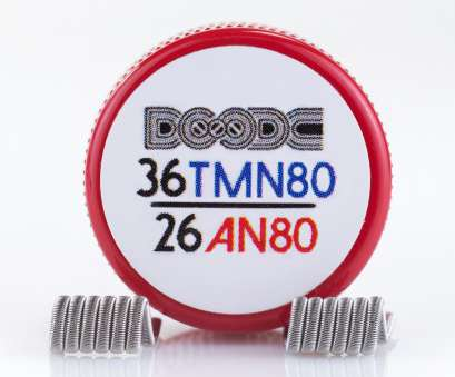 26 gauge anarchist wire Pro-Made Coils by Squidoode, Fused Clapton Coils, Squidoode 26 Gauge Anarchist Wire Simple Pro-Made Coils By Squidoode, Fused Clapton Coils, Squidoode Galleries