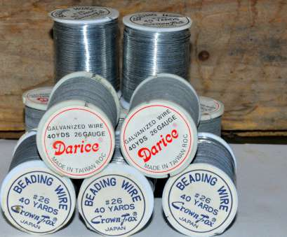 26 gauge beading wire Silver Beading Wire. 26 Gauge Wire. Flexible Wire. Vintage Crafts Supplies. Silver Craft Wire. Wire String. Jewelry Supplies 26 Gauge Beading Wire Top Silver Beading Wire. 26 Gauge Wire. Flexible Wire. Vintage Crafts Supplies. Silver Craft Wire. Wire String. Jewelry Supplies Collections
