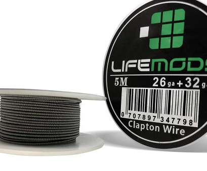26 gauge clapton wire LifeMods Clapton A1 Heat Resistant Wire spool, 32 / 26 gauge, feet/roll, Amazon.com 26 Gauge Clapton Wire New LifeMods Clapton A1 Heat Resistant Wire Spool, 32 / 26 Gauge, Feet/Roll, Amazon.Com Images
