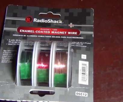 26 gauge enameled magnet wire RadioShack Enamel Coated Assorted Solid Magnet Wires 26 Gauge Enameled Magnet Wire Brilliant RadioShack Enamel Coated Assorted Solid Magnet Wires Solutions