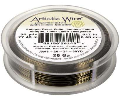 26 gauge gold wire Artistic Wire Copper Jewelry Wire, 26ga, 90ft, Antique Brass 26 Gauge Gold Wire Nice Artistic Wire Copper Jewelry Wire, 26Ga, 90Ft, Antique Brass Pictures
