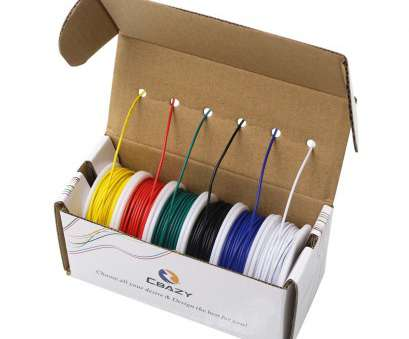 26 gauge hookup wire CBAZ Hook up Wire, (Stranded Wire Kit) 20 Gauge 6 colors 19.6 feet Each Electrical Wire 20 AWG-in Wires & Cables from Lights & Lighting on 26 Gauge Hookup Wire Perfect CBAZ Hook Up Wire, (Stranded Wire Kit) 20 Gauge 6 Colors 19.6 Feet Each Electrical Wire 20 AWG-In Wires & Cables From Lights & Lighting On Pictures