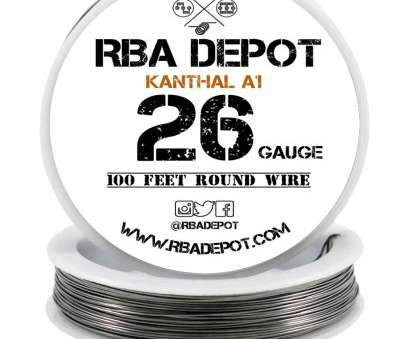 26 gauge kanthal a1 wire 26 Gauge, Premium Kanthal Alloy Wire A1 Resistance Wire 0.40mm Roll -, Depot 26 Gauge Kanthal A1 Wire Creative 26 Gauge, Premium Kanthal Alloy Wire A1 Resistance Wire 0.40Mm Roll -, Depot Solutions
