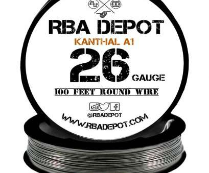 26 gauge kanthal a1 wire ... 26 Gauge, Premium Kanthal Alloy Wire A1 Resistance Wire 0.40mm Roll -, Depot 26 Gauge Kanthal A1 Wire Most ... 26 Gauge, Premium Kanthal Alloy Wire A1 Resistance Wire 0.40Mm Roll -, Depot Collections
