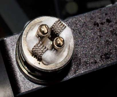 26 gauge nickel wire build 26 gauge twisted kanthal 5 wrap dual coil Magma RDA, Coils 26 Gauge Nickel Wire Build Practical 26 Gauge Twisted Kanthal 5 Wrap Dual Coil Magma RDA, Coils Photos