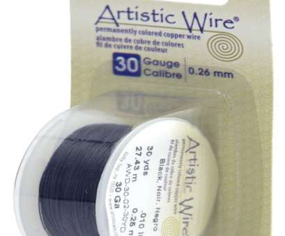 26 gauge wire to mm Artistic Wire, 30 Gauge (.26 mm), Black, 30 yd (27.4 m) 26 Gauge Wire To Mm New Artistic Wire, 30 Gauge (.26 Mm), Black, 30 Yd (27.4 M) Photos