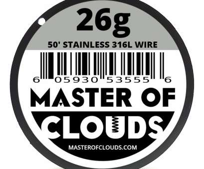 26 gauge wire to mm SS 316l, 50, 26 Gauge, Stainless Steel Resistance Wire 0.40 Mm, 50' 26 Gauge Wire To Mm Top SS 316L, 50, 26 Gauge, Stainless Steel Resistance Wire 0.40 Mm, 50' Pictures