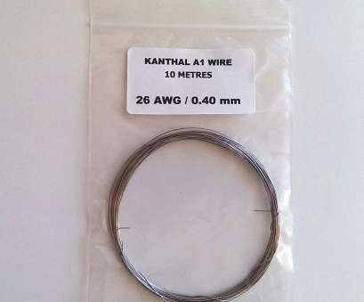 26 gauge wire uk Quality Kanthal A1 Resistance Wire -, 22,, 26,, 30 & 32, (Gauge), 2,, 10 Metre Lengths Available, Metres of 24 AWG): Amazon.co.uk: Health 26 Gauge Wire Uk Practical Quality Kanthal A1 Resistance Wire -, 22,, 26,, 30 & 32, (Gauge), 2,, 10 Metre Lengths Available, Metres Of 24 AWG): Amazon.Co.Uk: Health Images