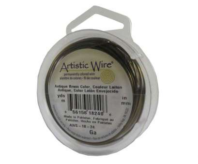 26 vs 30 gauge wire Artistic Wire Antique Brass 26 Gauge 30 Yards 43062 Round Shiny, Metal 26 Vs 30 Gauge Wire Fantastic Artistic Wire Antique Brass 26 Gauge 30 Yards 43062 Round Shiny, Metal Collections