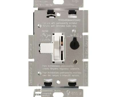 3 way light switch with dimmer wiring diagram Lutron Toggler, Dimmer Switch, Dimmable LED, Halogen, Incandescent Bulbs, Single-Pole or 3-Way, White 3, Light Switch With Dimmer Wiring Diagram Practical Lutron Toggler, Dimmer Switch, Dimmable LED, Halogen, Incandescent Bulbs, Single-Pole Or 3-Way, White Solutions