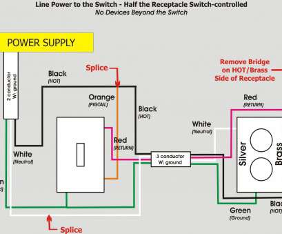 3 way switch electrical wiring diagram How To Wire A Switched Outlet 3-Way Switch Wiring A Light, Wiring A Switch 3, Switch Electrical Wiring Diagram Brilliant How To Wire A Switched Outlet 3-Way Switch Wiring A Light, Wiring A Switch Ideas