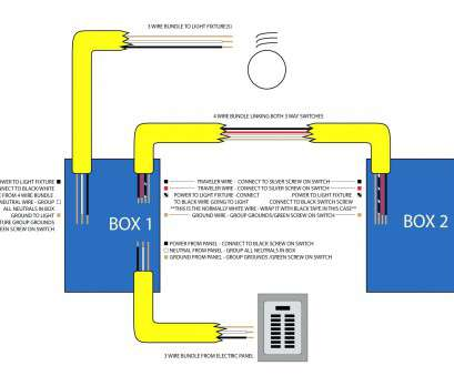 3, Switch Wiring Diagram Multiple Lights Power At Light Perfect 4 Wire Light Fixture Wiring Diagram Sample, 3, Switch Wiring Diagram Multiple Lights New Photos