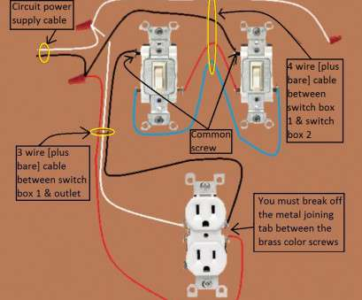 3 way switch wiring with power at switch 2011, Power Switch 3, Half Switched Electrical Wiring Done Right 3, Switch Wiring With Power At Switch Professional 2011, Power Switch 3, Half Switched Electrical Wiring Done Right Galleries