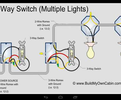 3 way switch with 3 wire romex 3, Switch Multiple Lights With 2 Wire Romex, Power Source Picturesque Wiring To 3, Switch With 3 Wire Romex Brilliant 3, Switch Multiple Lights With 2 Wire Romex, Power Source Picturesque Wiring To Galleries