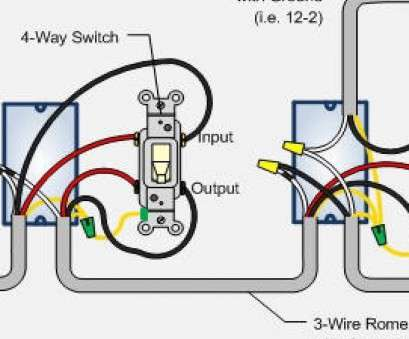 3 way switch with 3 wire romex Wiring Diagram Multiple, Lights Fresh, To Wire, Way Switch At Three 3, Switch With 3 Wire Romex Most Wiring Diagram Multiple, Lights Fresh, To Wire, Way Switch At Three Photos
