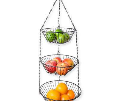 3 tier wire mesh hanging baskets Amazon.com: Home Intuition 3-Tier Wire Kitchen Hanging Basket, Black: Kitchen & Dining 3 Tier Wire Mesh Hanging Baskets Simple Amazon.Com: Home Intuition 3-Tier Wire Kitchen Hanging Basket, Black: Kitchen & Dining Photos