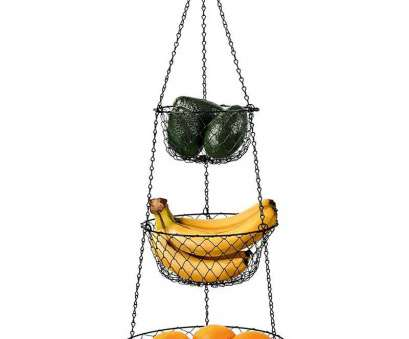 3 tier wire mesh hanging baskets Amazon.com, Malmo 3-Tier Wire Fruit Hanging Basket, Kitchen Storage Vegetable Basket, Iron Wire 3 Tier Wire Mesh Hanging Baskets Brilliant Amazon.Com, Malmo 3-Tier Wire Fruit Hanging Basket, Kitchen Storage Vegetable Basket, Iron Wire Collections