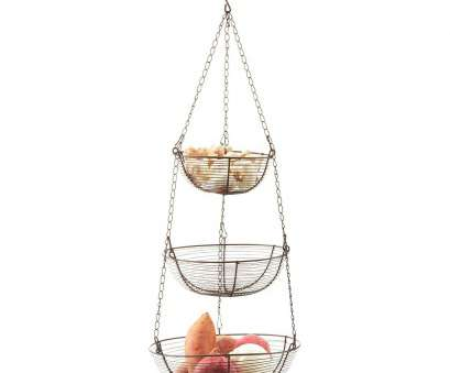 3 tier wire mesh hanging baskets Bronze 3-Tier Hanging Wire Fruit & Vegetable Basket 3 Tier Wire Mesh Hanging Baskets Nice Bronze 3-Tier Hanging Wire Fruit & Vegetable Basket Pictures