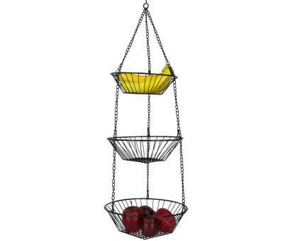 3 tier wire mesh hanging baskets HOME basics 3-Tier Hanging Basket 3 Tier Wire Mesh Hanging Baskets Best HOME Basics 3-Tier Hanging Basket Collections