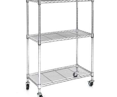 3 tier wire shelving with wheels Details about Heavy Duty Chrome 3 Tier Wire Shelving Rack Cart Unit with Casters Shelf Wheels 3 Tier Wire Shelving With Wheels Creative Details About Heavy Duty Chrome 3 Tier Wire Shelving Rack Cart Unit With Casters Shelf Wheels Solutions