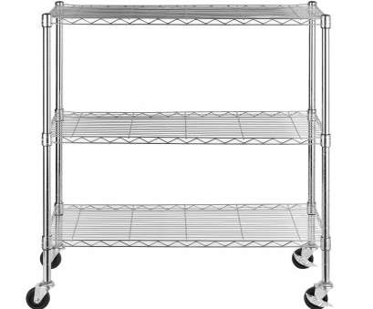 3 tier wire shelving with wheels Shop Excel 36-inch 3-tier Multi-purpose Chrome Wire Shelving, Free Shipping Today, Overstock.com, 10614329 3 Tier Wire Shelving With Wheels Nice Shop Excel 36-Inch 3-Tier Multi-Purpose Chrome Wire Shelving, Free Shipping Today, Overstock.Com, 10614329 Images